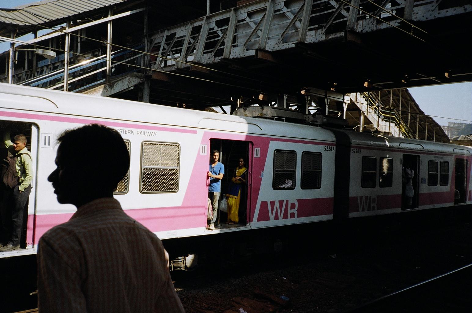 A train in India