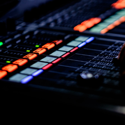 Mixing desk image; send your music to Selector for a chance to get played on the show