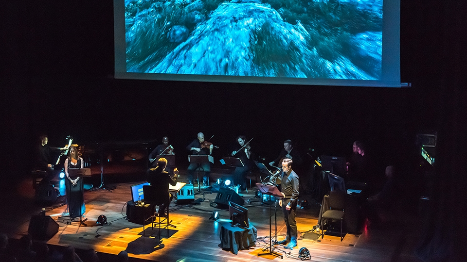 Dear Esther live score performance