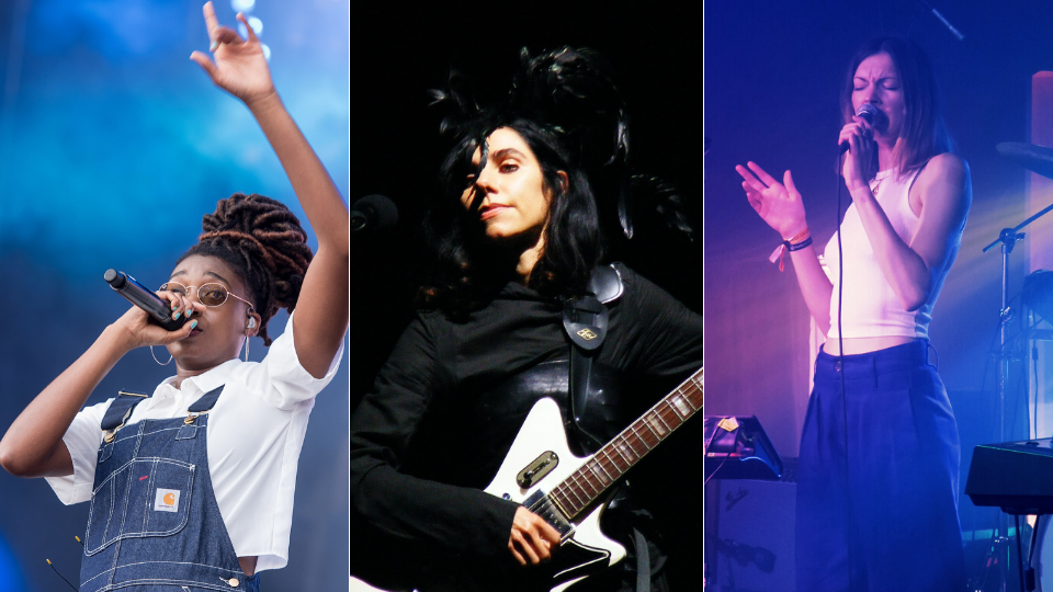 Our playlist features Little Simz, PJ Harvey, Rosie Lowe
