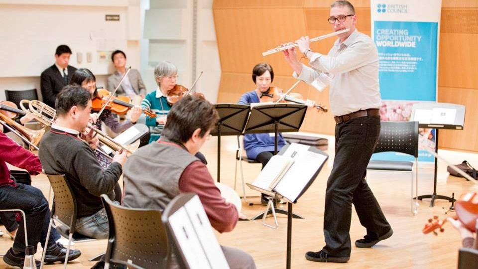 BBC Symphony Orchestra leads musicians in rehearsals