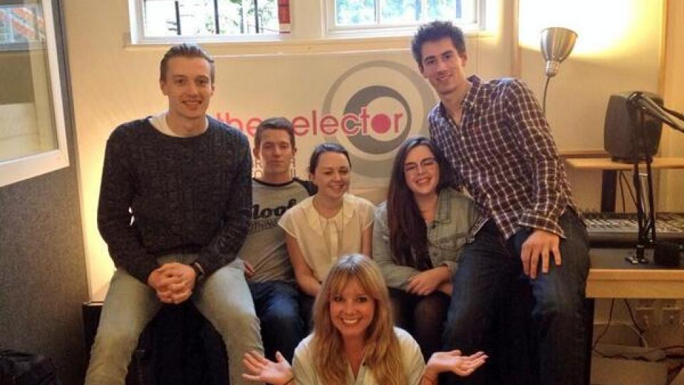 Goldierocks with five of the SRA Selector students