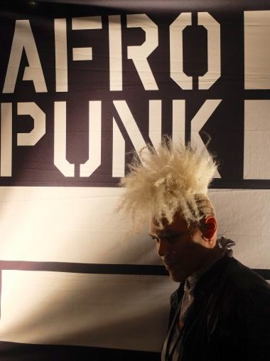 Punk style at AFROPUNK